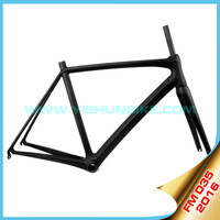 2016 YISHUNBIKE T1000 carbon road UD finish BB86 aero light racing road bike frame within 900g