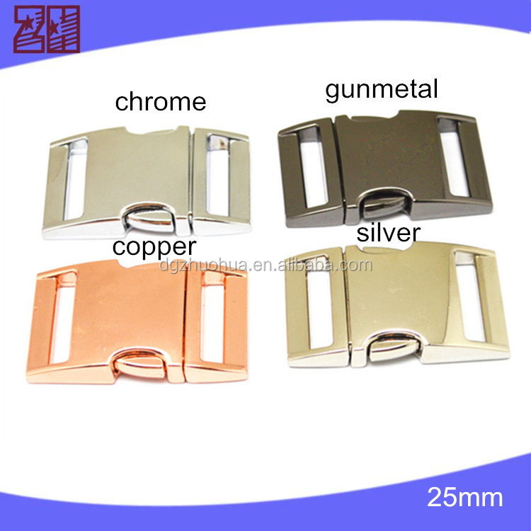 metal buckle for dog collar and leashes,quick release buckle,pet buckle
