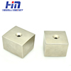 Industrial application ndfeb magnetic separator neodymium centre block magnet with countersunk hole