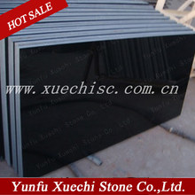 popular china shanxi black granite fireplace hearth slabs
