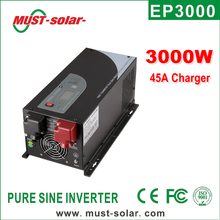 Micro control power inverter with pure sine wave battery charger/ Must Solar Inverter