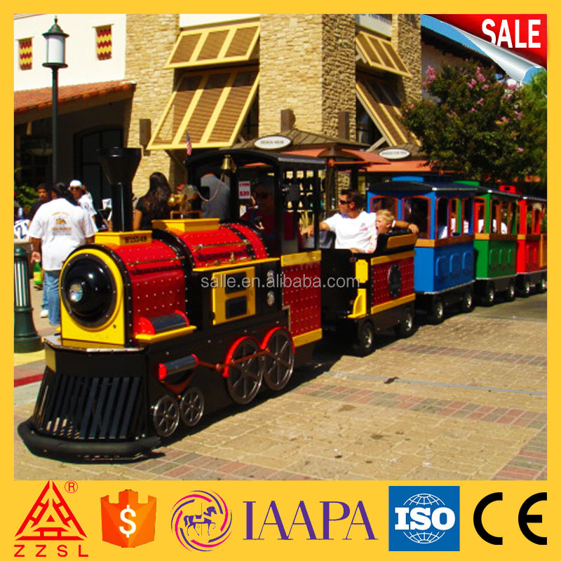 Custom logo outdoor train activity amusement with long life