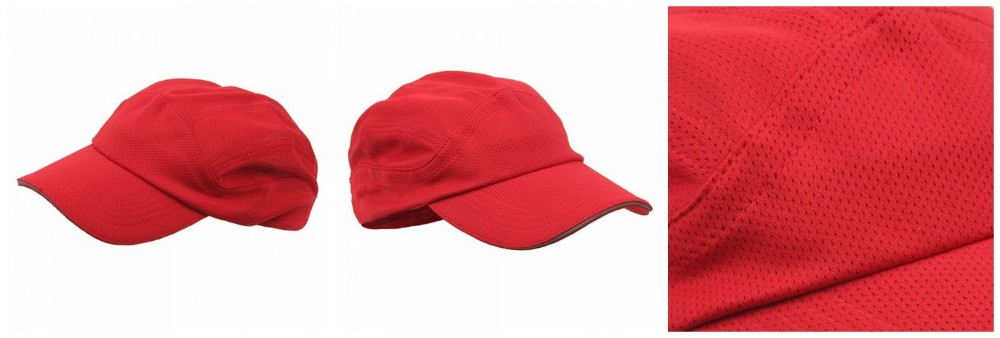 Moisture wicking and fast drying Athletic Casual Sport Cap