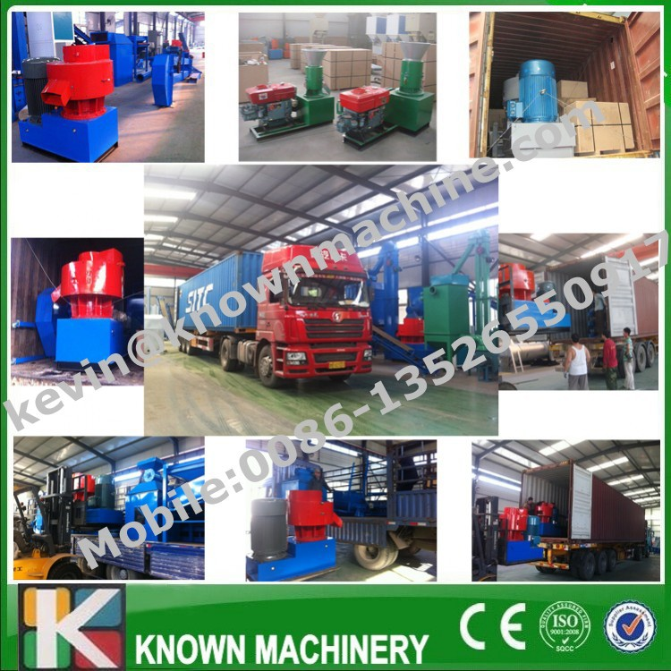Five years warranty of the 100 kg to 4000 kg per hour CE certified wood pellet machine price