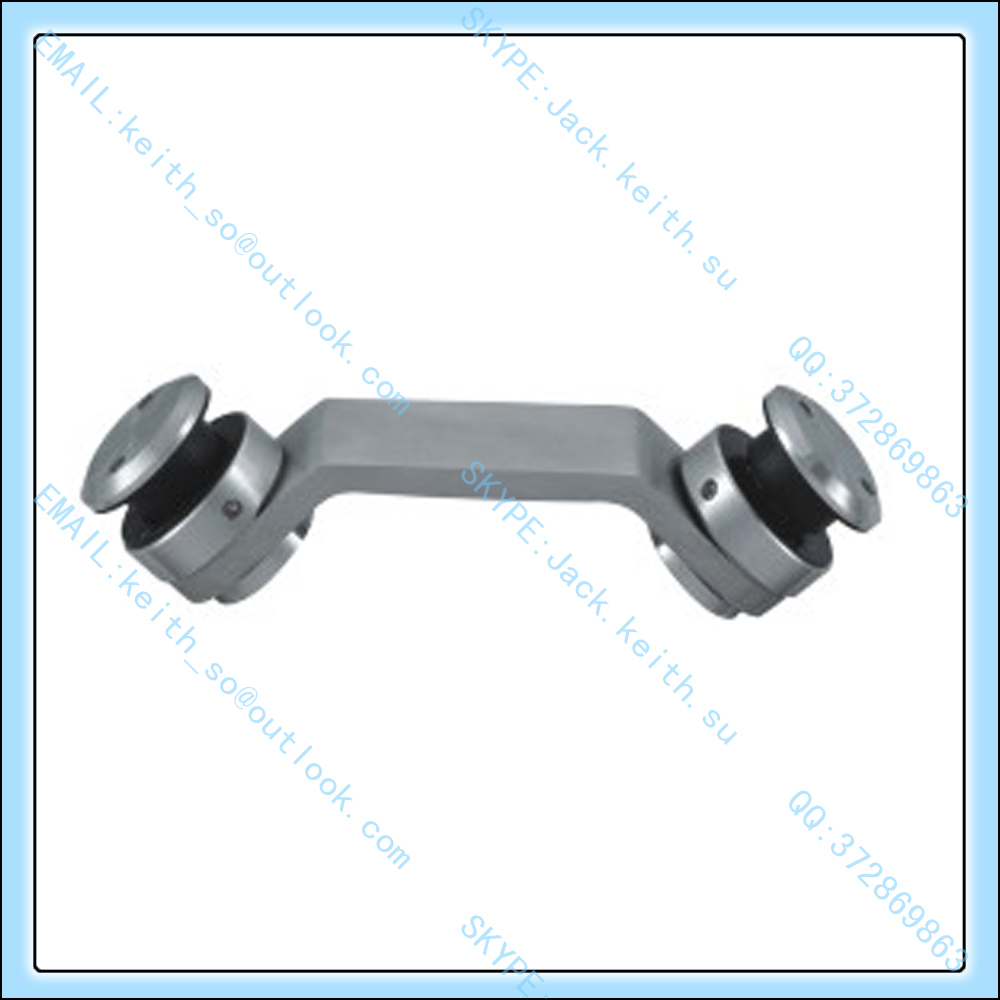 9200E-14 Stainless Steel Corner Glass Clamps, Patch Fittings