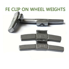 MC Fe clip on wheel balance weights