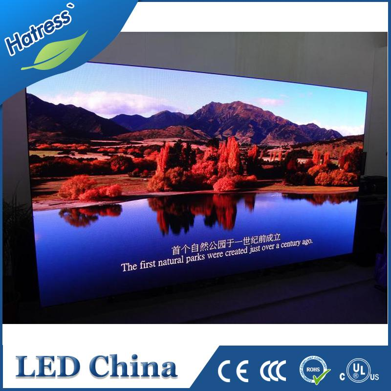 Manufactory meeting concert advertising use P3 led video/advertising curtain display