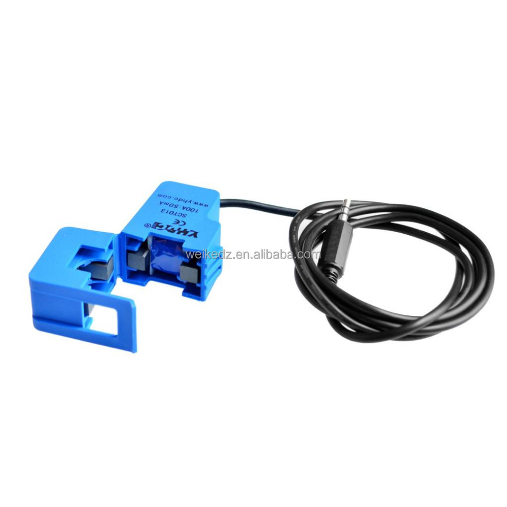 SCT-013-000 Non-invasive AC Current Sensor Split Core Transformer 100A for Ard SCT013000