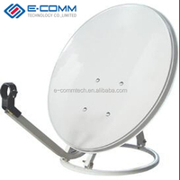 Hot sale!! 75 cm (2.5 feet) KU Band Offset Satellite Dish antenna ,the best Chinese satellite TV dish antenna