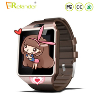 Cheapest music player pedemeter bluetooth smart watch phone dz09 pk U8 GT08 A1 smartwatch