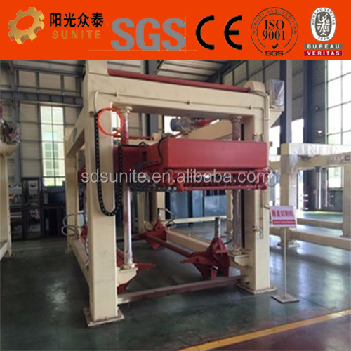 Service formost of aac block making machine company/hydraulic reversal clamp/automatic mould box moving system