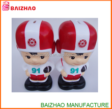 custom plastic vinyl toy manufacture, make your own design vinyl toy coin bank