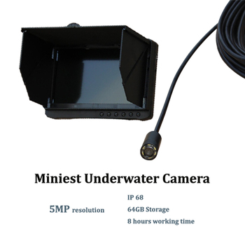 Miniest Bullet Style Fish Finder Price 1080P Digital HD 5.0MP Waterproof IP68 CCTV Camera