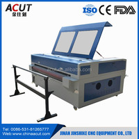 hot sale !!! fabric/ leather auto feeding laser cutting machine honey comb table
