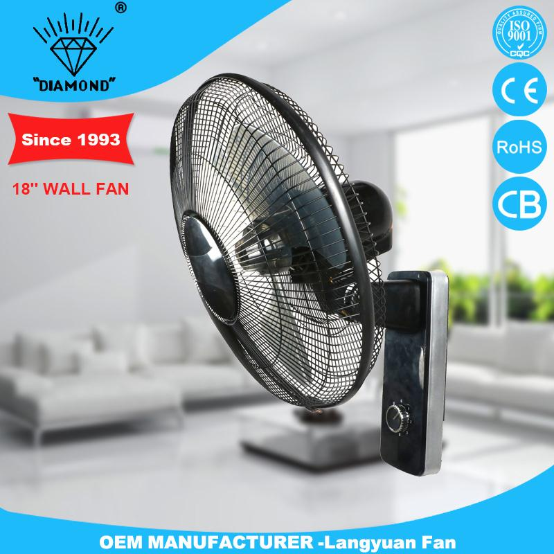 New design honorable wall mounted bathroom fan with low voice