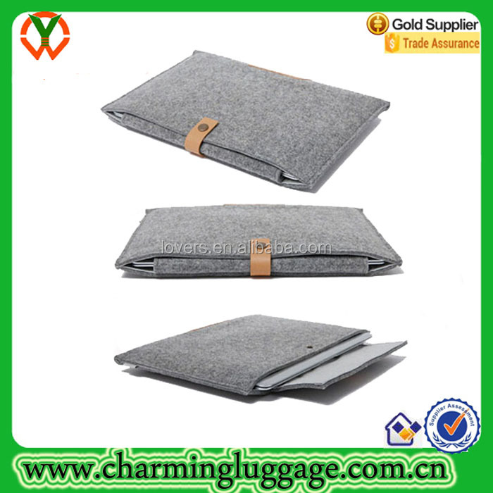 ISO 9001 Factory recycled polyester felt tablet sleeve protective case