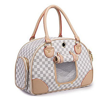 Wholesale Soft Sided Travel Dog and Cat Pet Carrier Tote Hand Bag Custom Accept