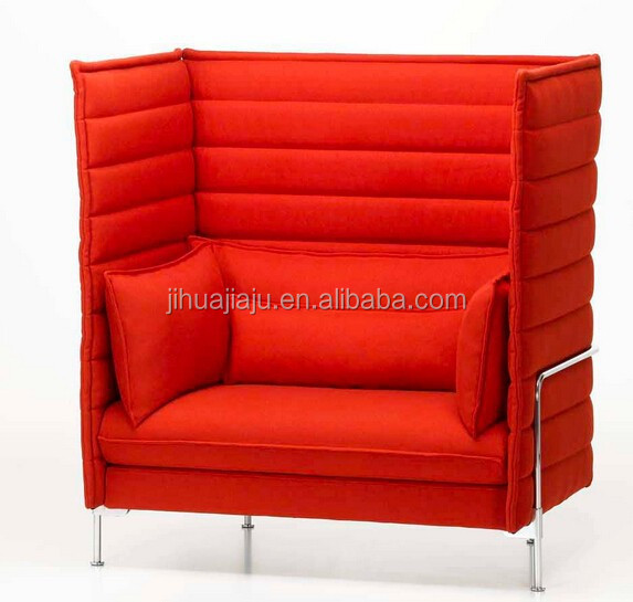 2015 replica alcove sofa/designer sofa replica/replica designer sofa furniture
