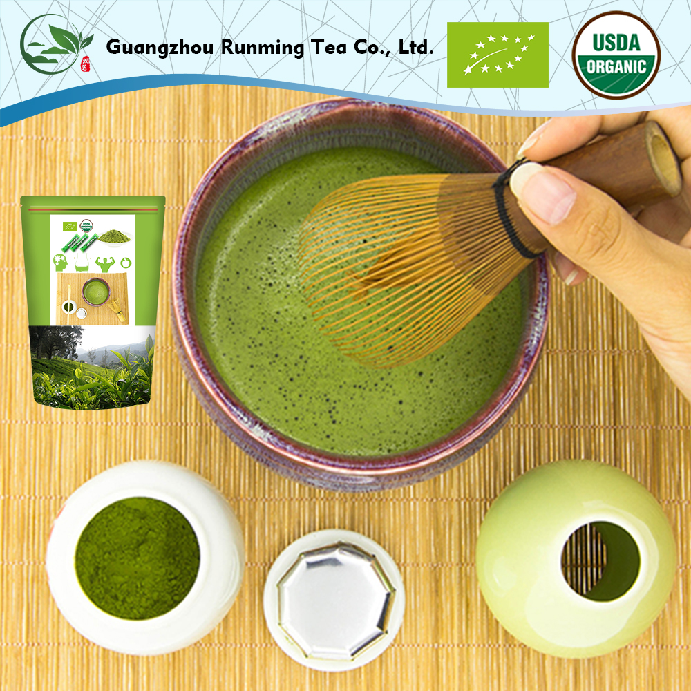 how to prepare organic matcha green tea