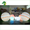 Custom LED Lighting Inflatable Planets Balloon With Led Light Inside , Solar System Nine Planets