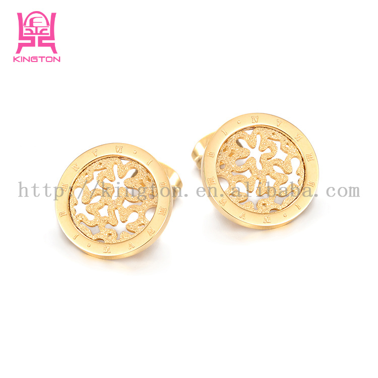 Perfect Gold Plated Amp Pearl Fashion Jewelry For Women18KRGPE956 Ain Stud