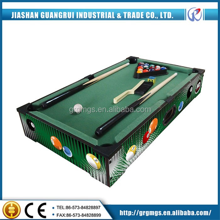 Standard 24inch billiard table used for sale , christmas gift for boys and gifts