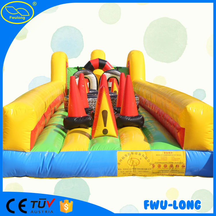 Original manufacturer playground inflatable water obstacle course for sale