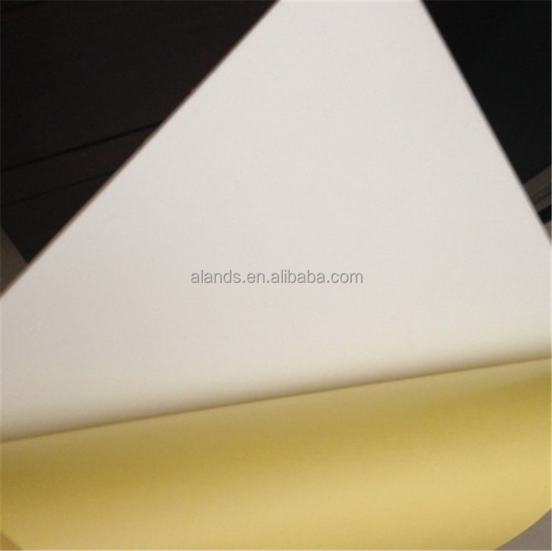 White/Black Photo Book Album PVC Sheets With Glue/PVC Sheet For Photobook
