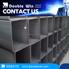 2015 hot selling black powder coating 25mmx25mm welded square hollow carbon steel welded pipe