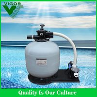 2016 Factory supply integrative combo fiberglass High Quality Sand Filter With Water Pump