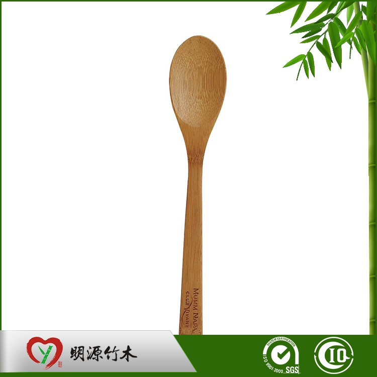 Custom Eco-friendly Natural Family-used Coffee Bamboo Spoon Of High Quality