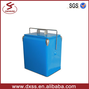 Good Metal Thermal Insulated 17L Cooler Container with Portable Handle