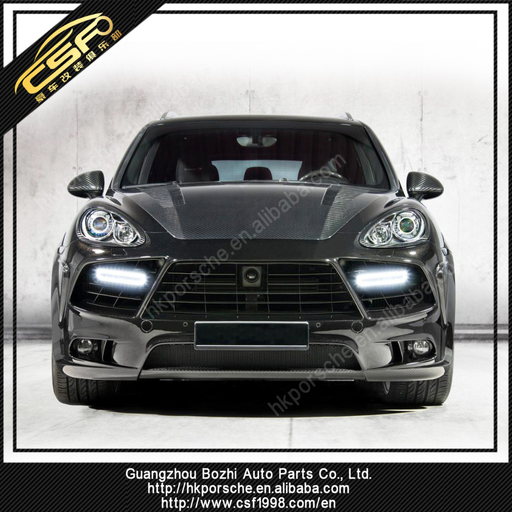Carbon Fiber Body Kits Parts For 958 Cayenne