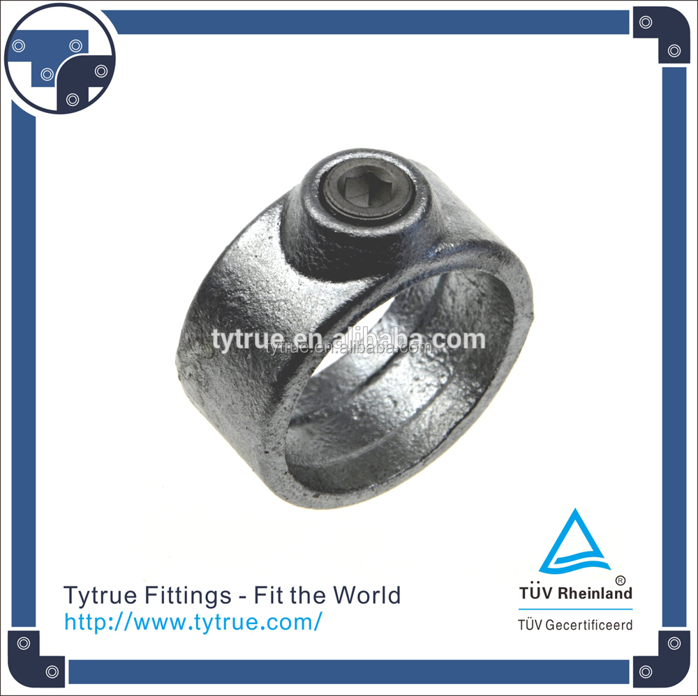 Cast Iron Key Clamp Fittings Pipe Clamps For Furniture