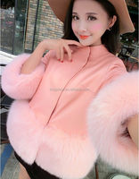 2015 Spring Winter Women Korea Fashion Luxury Faux Fur Vest Imitation Fox Furs Waistcoat Women's wool coat vests Overcoat