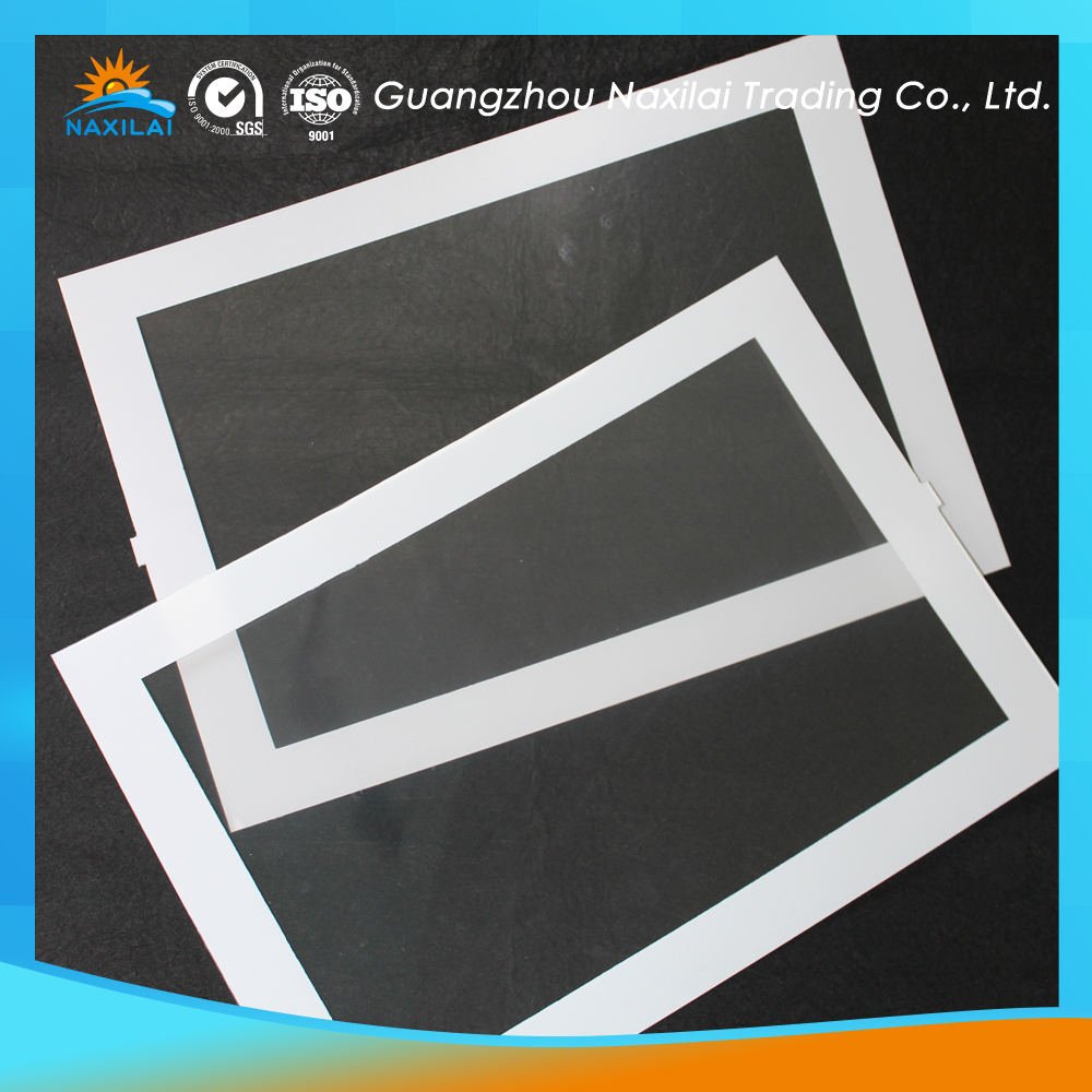 Extruded plastic 0.5mm super clear PET sheet for printing