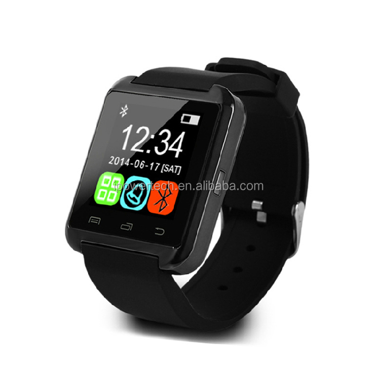 Touch screen bluetooth smart watch U8 for iphones