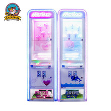 Indoor coin operated marble doll game claw crane vending machines for sale