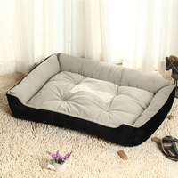 Hot sale Big Luxury warm Soft Pet dog bed round unique LARGE