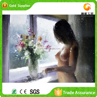 Factory Wholesale Diamond Painting Japanese Full Open Hot Sexi Girl Photo Painting With Animal
