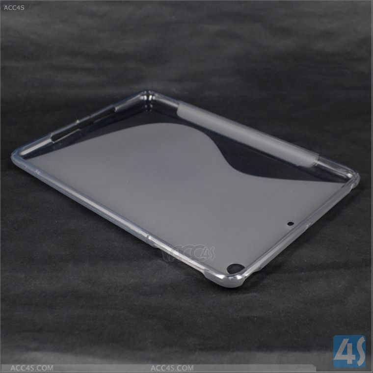 Clear TPU Rubber Skin Case for iPad Mini 2 Retina P-IPDMINIiiTPU001