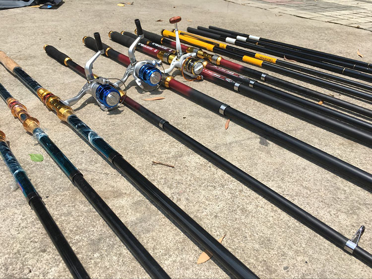 daiwa fishing rods Ready fish,105/4000 Solid Fiberglass Spinning Rod,