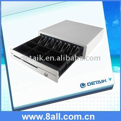 White POS Cash Drawer / Cash Register / Peripheral equipment