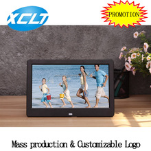 Factory directly sales 10 inch black or white play music picture video digital photo frame