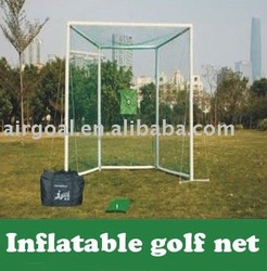 Golf Training Aid(Inflatable&Portable Golf Practice Net)