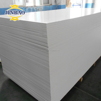 JINBAO decorative reflective carved white pvc sheets foam boards