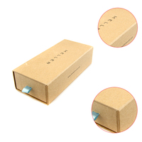 Exquisite Kraft Paper Drawer Box High
