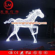 animals 3D horse motif lights,high quality decoration lights,CE,ROSH Approve