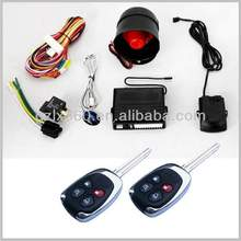 Fashion vibrating car alarm with trunk release