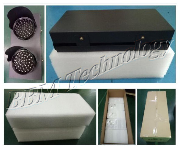 24VDC 100mm traffic light from factory price